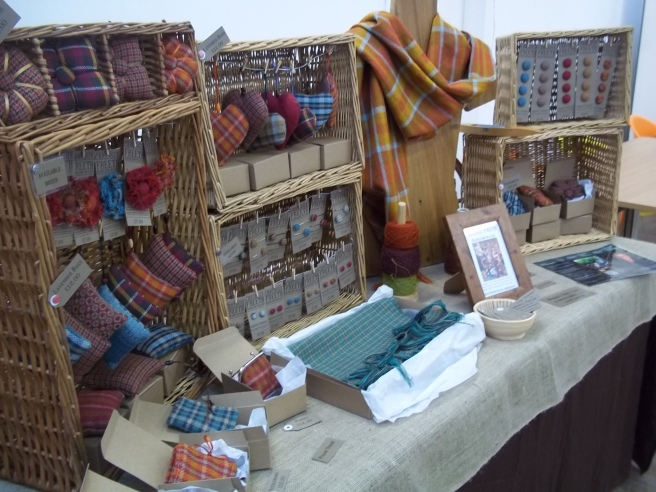 Shipley Alternative 2 Handloom weaver craft stall design
